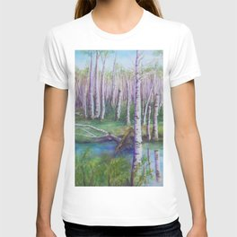 Crossing the Swamp WC151101-12 T-shirt