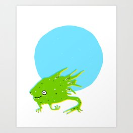 Tadpole Monster Art Print