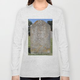 Epitaph 01 Long Sleeve T-shirt