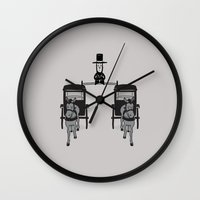 lincoln Wall Clocks featuring Epic Lincoln by Phil Jones