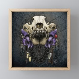 Let Us Prey: The Wolf Framed Mini Art Print