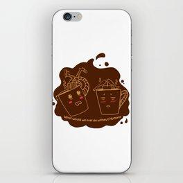 Addicted Coffee iPhone Skin