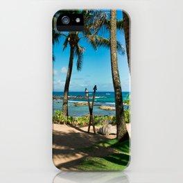 Kuau Beach Paia Maui North Shore Hawaii iPhone Case