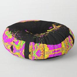 Purple Streak Quad Cat Floor Pillow