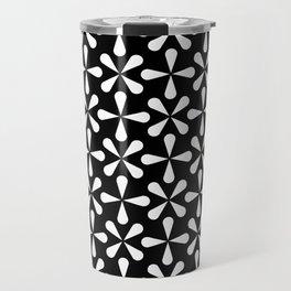 Geometric Pattern 128 (Asterisks) Travel Mug
