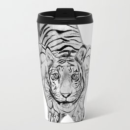 Tiger Attack Travel Mug