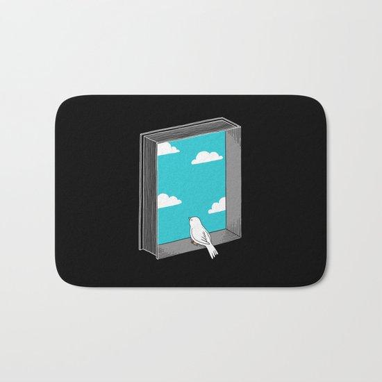 Every book a window Bath Mat