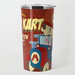 mario kart vintage Travel Mug
