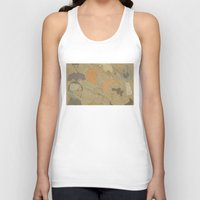 fifth element Tank Tops featuring The Fifth Element by Itxaso Beistegui Illustrations