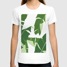 Watercolor tropical leaf XIV T-shirt