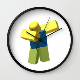 Roblox Dab Wall Clock