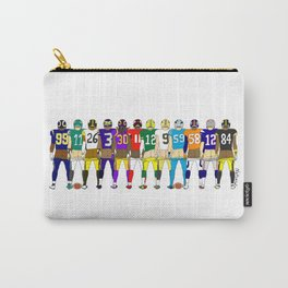 Football Butts Carry-All Pouch