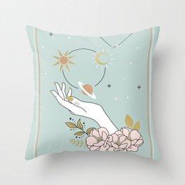 Capricorn Zodiac Series Throw Pillow