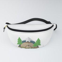 Camping design, Camper Gift, Live Laugh Camp Fanny Pack