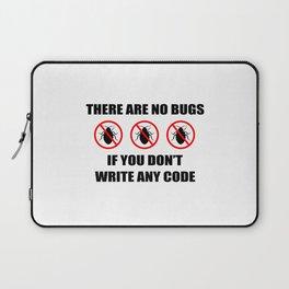 No bugs Laptop Sleeve
