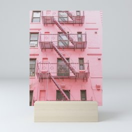 Pink Soho NYC Mini Art Print