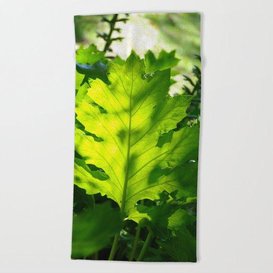 Green Touch Beach Towel