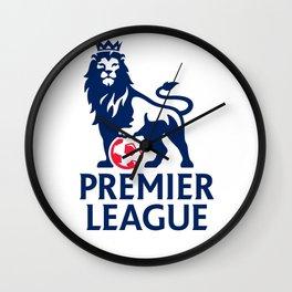 Premier League Logo Wall Clock