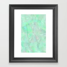 Emeralds Framed Art Print
