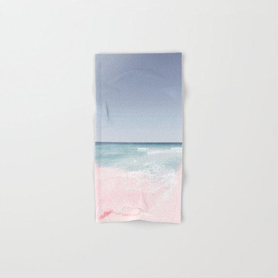Pastel ocean waves Hand & Bath Towel