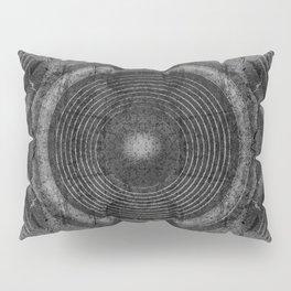 Black and white music speakers Pillow Sham