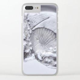 Sea Shell & Seaweed Clear iPhone Case