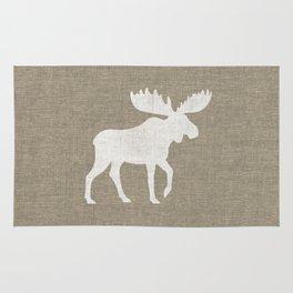 Moose Silhouette Rug