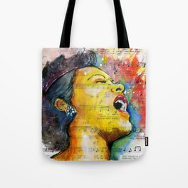 Billie's Blues  Tote Bag