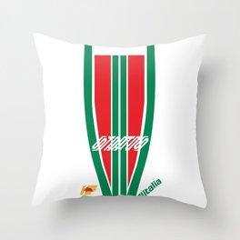 Lancia Stratos Rally Alitalia Throw Pillow
