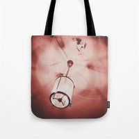 shadow Tote Bags featuring shadow by Elsa Harley