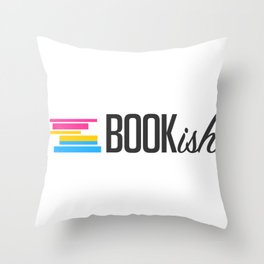 Pansexual, Bookish, and Proud Throw Pillow