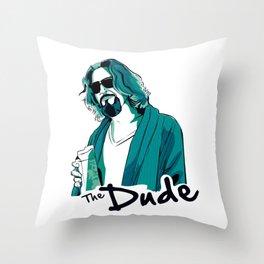 the big lebowski Throw Pillow