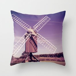Spocott Windmill Throw Pillow