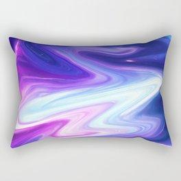 Blue Fight Rectangular Pillow