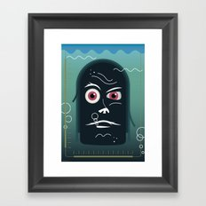 What is this?! Framed Art Print
