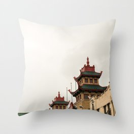 Chinatown Chicago #5 Throw Pillow