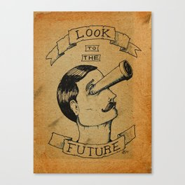 Look to the Future Canvas Print