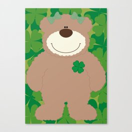 WE♥BEARS Canvas Print