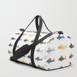Pleco! - white Duffle Bag