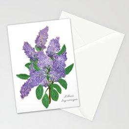 Lilacs: Syringa Stationery Cards