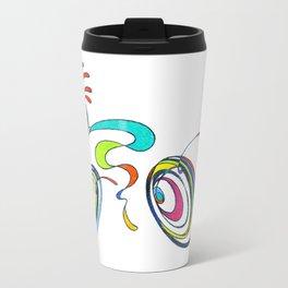 Bicycle - Kokopelli rides again Travel Mug