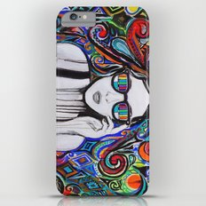 Think in Technicolor Slim Case iPhone 6s Plus