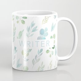 writer floral Coffee Mug
