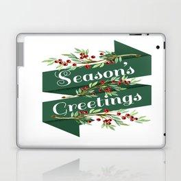 Season's Greetings Laptop & iPad Skin