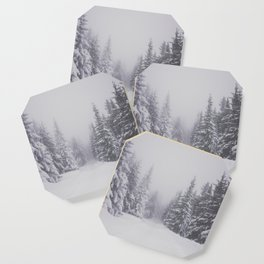 Winter walk - Landscape and Nature Photography Coaster