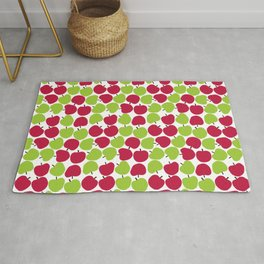 Apple pattern. Rug