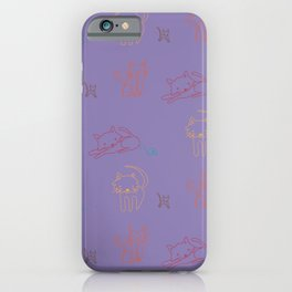 Cat and Mouse Sing the Blues iPhone Case