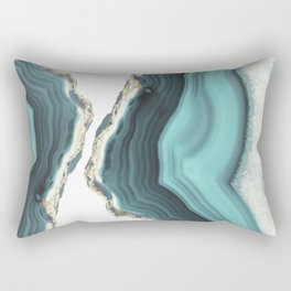 Sea Agate Rectangular Pillow