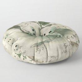 Natural Histories - Forest Spirit studies Floor Pillow