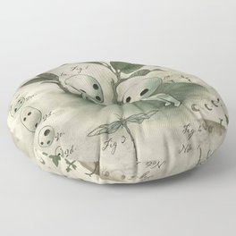 Natural Histories - Forest Spirit studies Floor Pillow